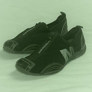 Barrado Black Merrell Zip up jogging shoes VGUC
